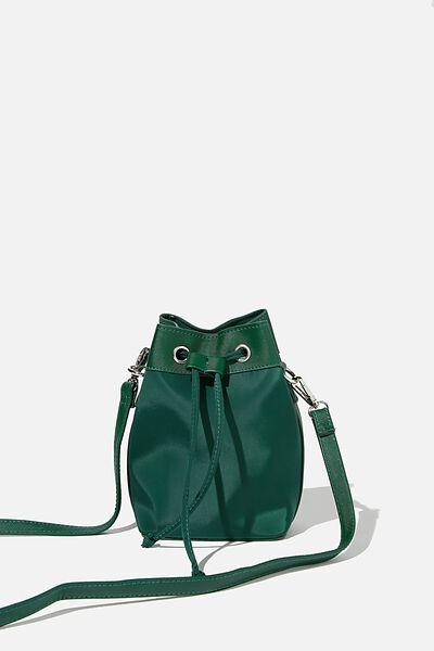 Nylon Bucket Bag, HERITAGE GREEN