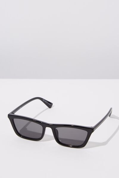 Tommi Low Profile Sunglasses, S.BLACK