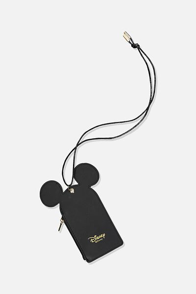 Lcn Mickey Lanyard, BLACK