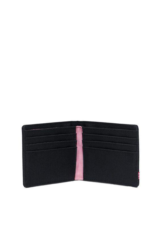 Herschel Roy Rfid Wallet, BLACK/BLACK