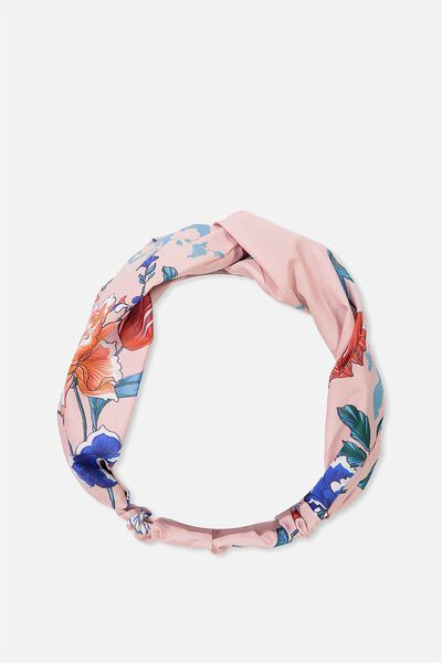 Manhattan Headband, PINK FLORAL