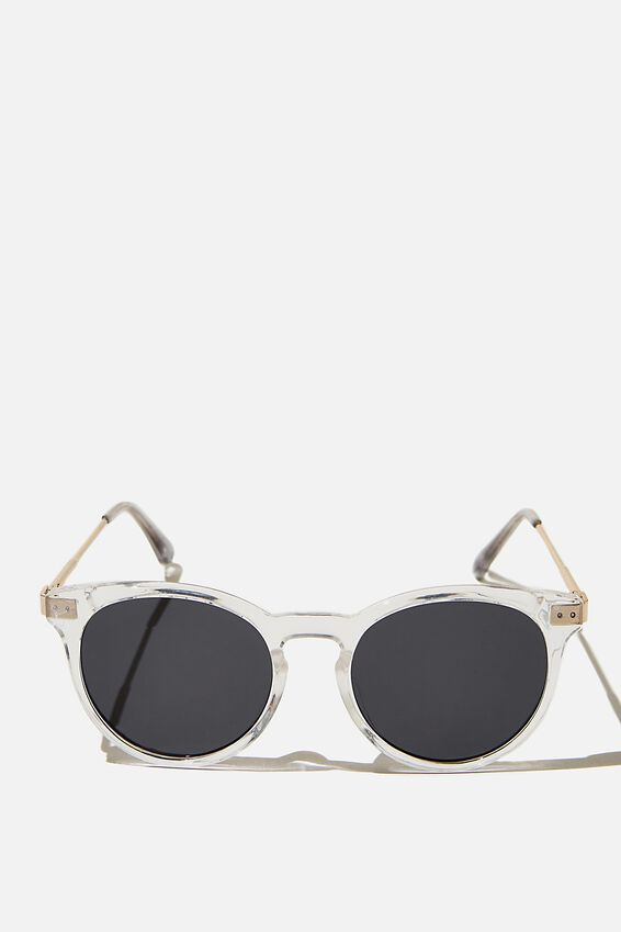 Remi Sunglasses, CLEAR CRYSTAL