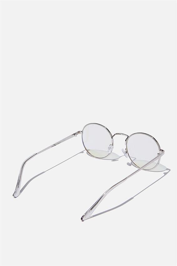 Emmi Blue Light Blocking Glasses, SILVER