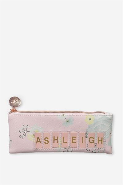 Personalised Mini Cosmetic Case, ROMANTIC FLORAL-PINK ICING