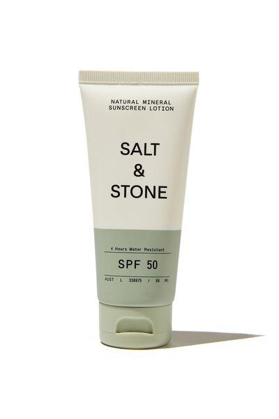 Salt & Stone Spf 50 Sunscreen Lotion, MINERAL