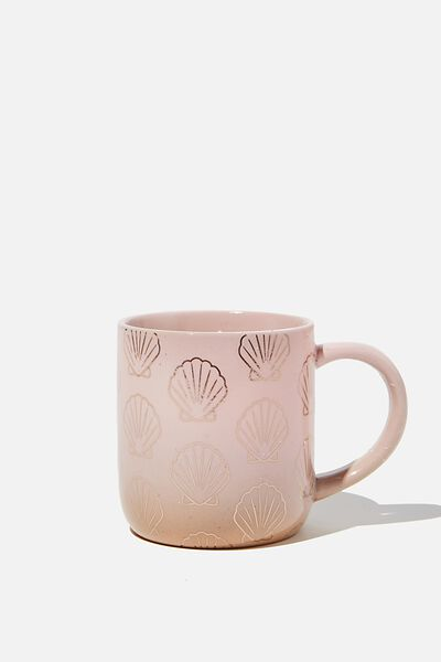 All Day Mug, PINK SHELL
