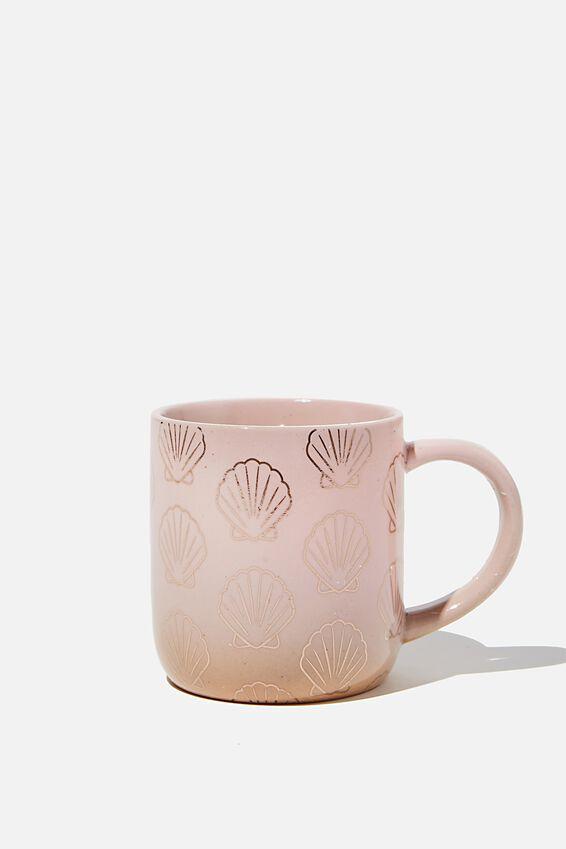All Day Mug, PINK SHELL