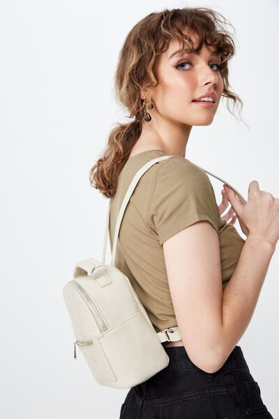 Cara Mini Backpack, STONE LIZARD TEXTURE