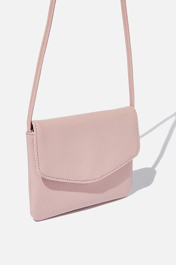 Mikaela Cross Body Bag, BLUSH