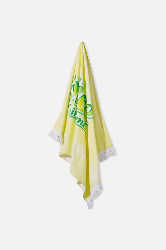 Bondi Rectangle Towel, LCN SPLICE/TIE DYE