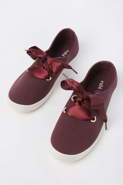 Indy Bow Plimsoll, BLACKBERRY