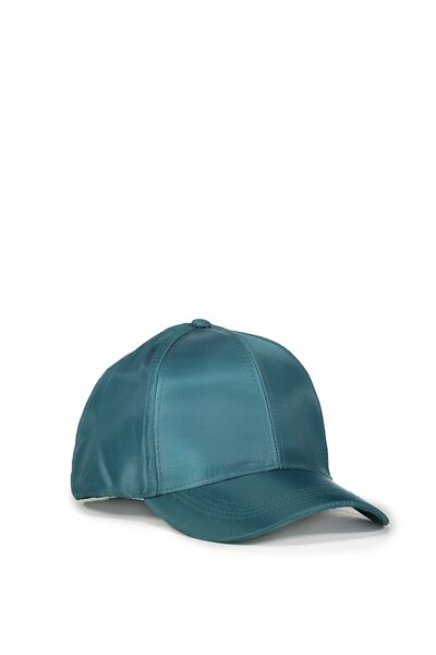 Nancy Cap, JUNGLE GREEN NYLON