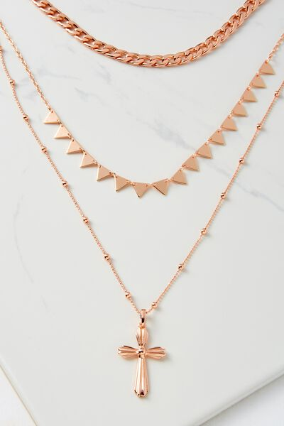 Miami Necklace, ROSE GOLD
