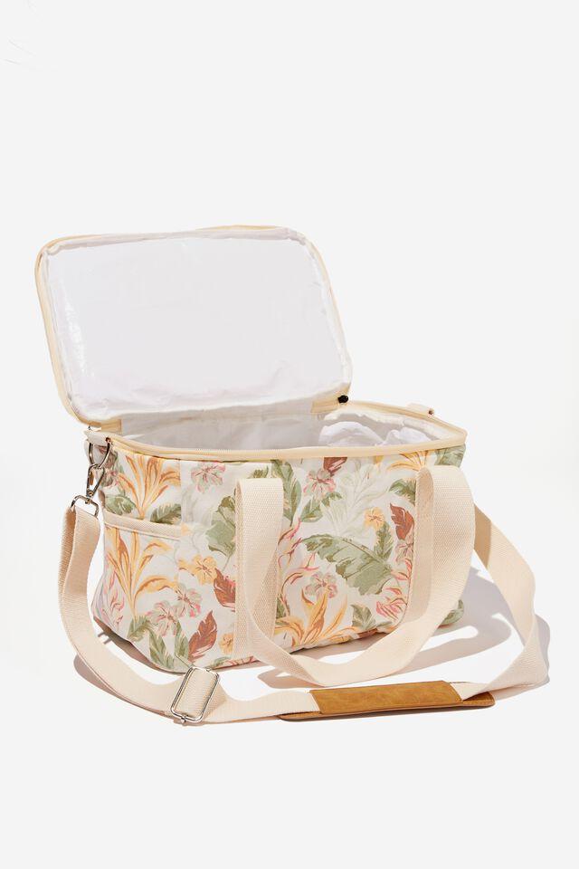 Cooler Bag, ALEX TROPICAL SAGE WHITE