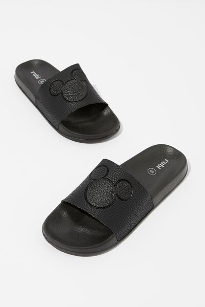 Wild Slide, BLACK MICKEY EMBOSSED