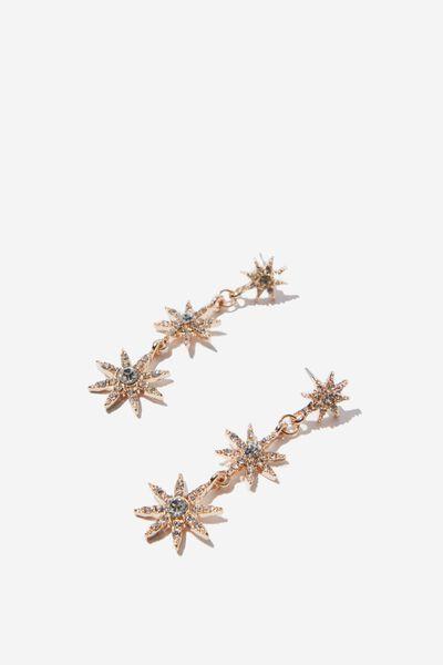 Astrid Mystic Earrings, GOLD