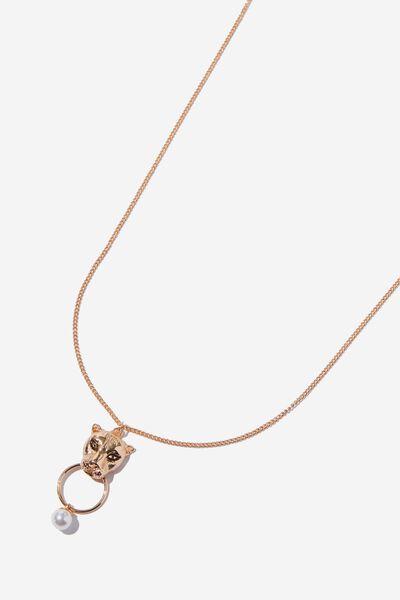 Anna Baroque Necklace, GOLD