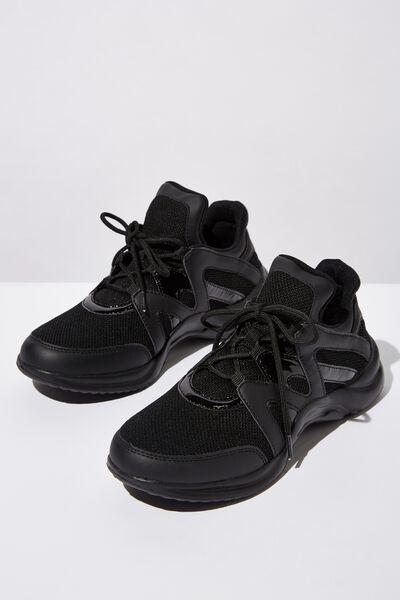 Lauren Sneaker, BLACK
