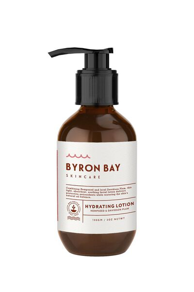 Byron Bay Skincare Hydrating Lotion, DAVIDSON PLUM & HEMPSEED