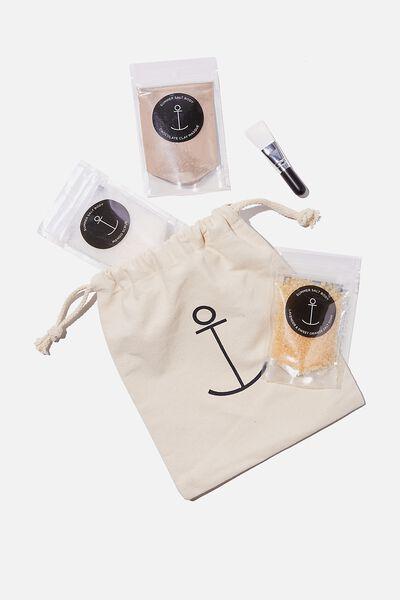 Summer Salt Body Pack, SELF CARE PACK
