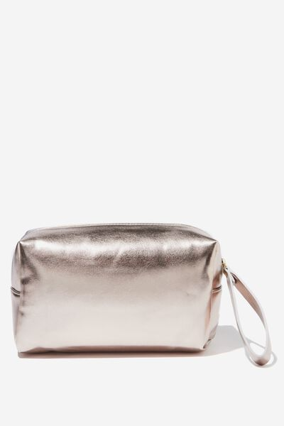 Marlee Cosmetic Case, ROSE GOLD