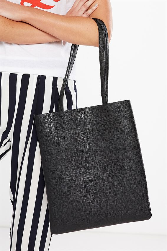 Work It Mini Tote, BLACK