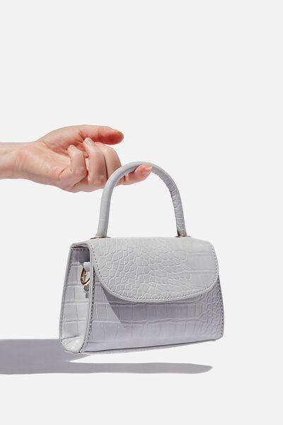 Lola Cross Body Bag, LILAC TEXTURE