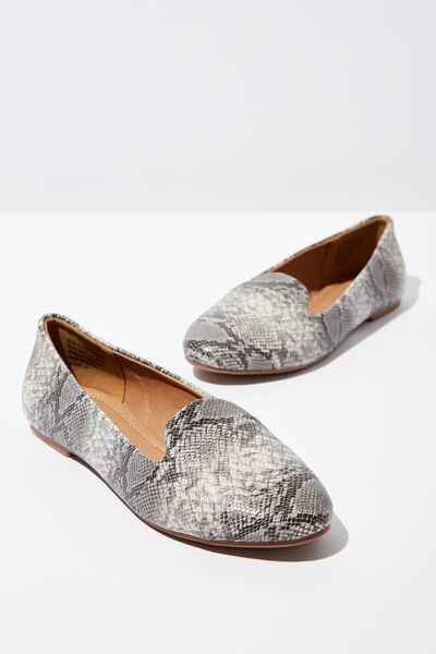 Sophia Slipper, NATURAL PRINT