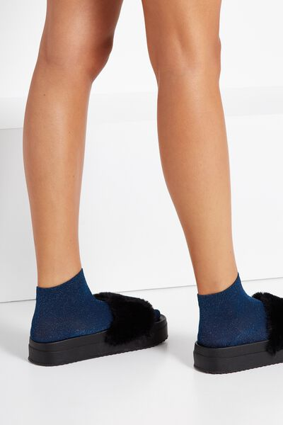Dorothy Sparkle Sock, NAVY