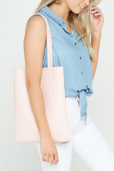 Work It Mini Tote, BABY PINK
