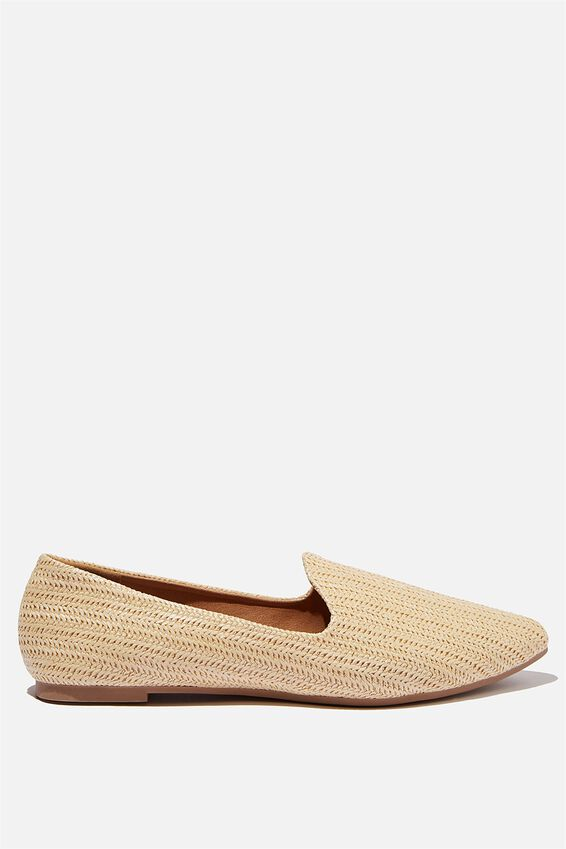 Essential Tiana Slipper, SAND RAFFIA