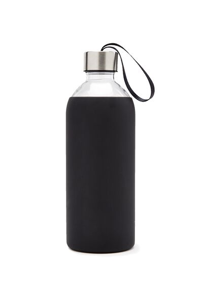 1L Hydrator Waterbottle, BLACK