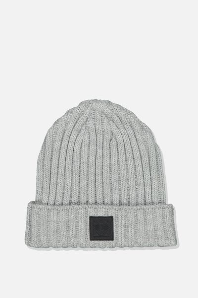 Take A Hike Beanie, GREY MARLE