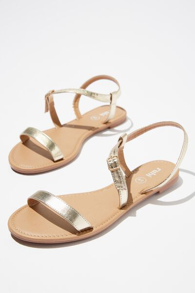 Everyday Bella Wrap Sandal, METALLIC GOLD
