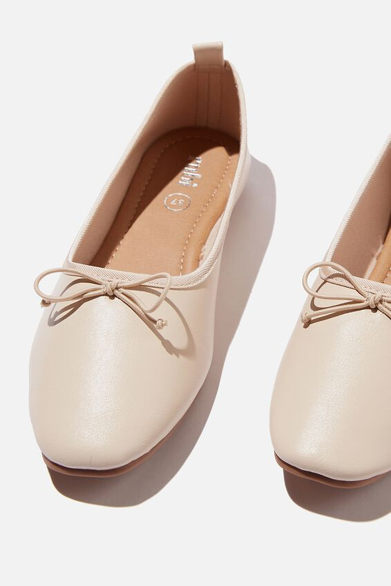 Essential Rylee Ballet, STONE SOFT PU