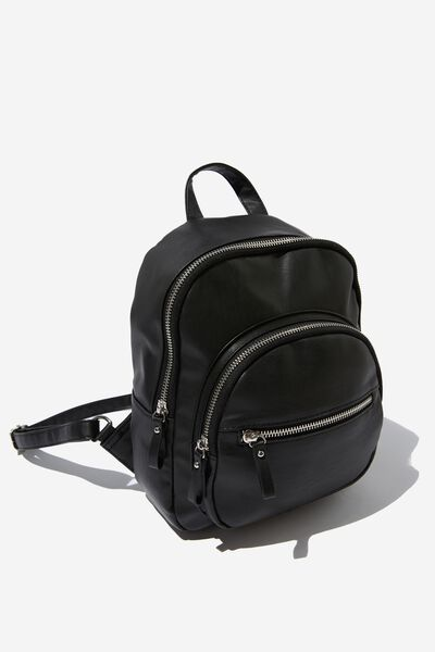 Zip It Backpack, BLACK