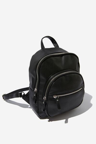 Zip It Backpack, BLACK