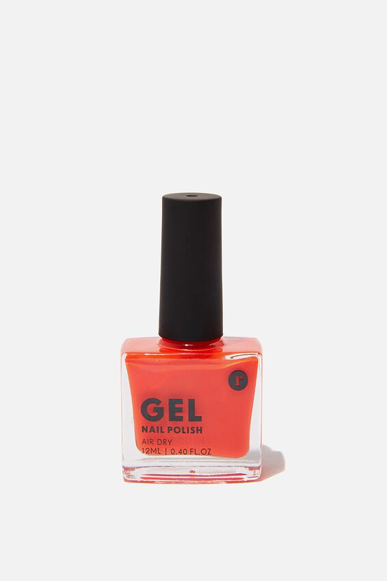 Gel Nail Polish, NEON ORANGE