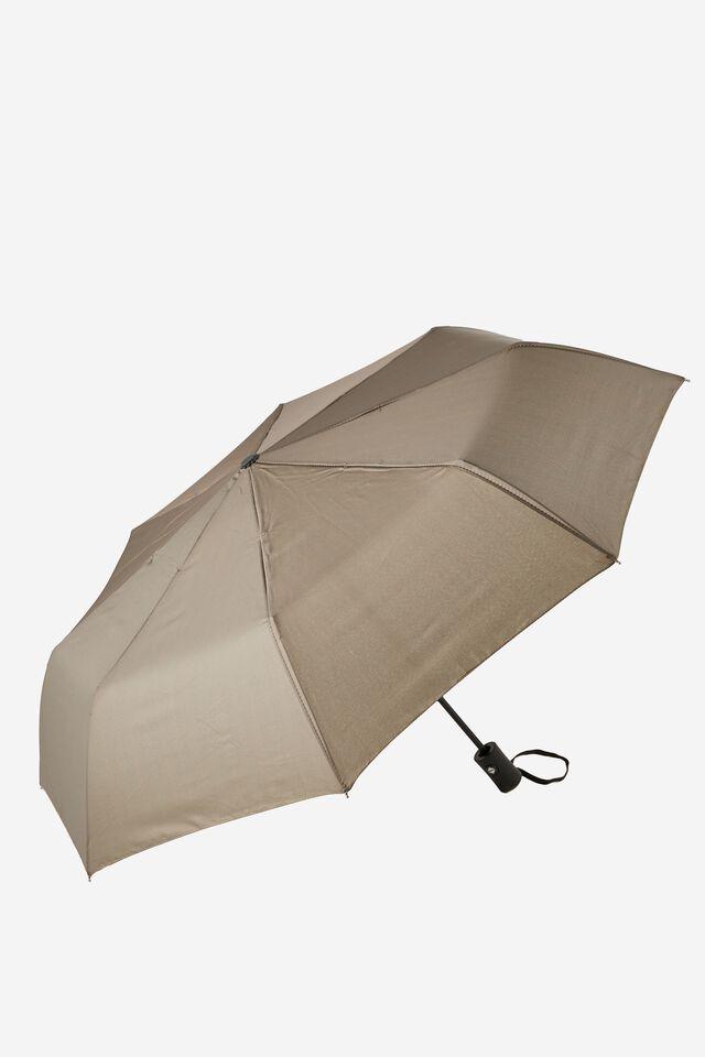 Compact Umbrella, CHOCOLATE