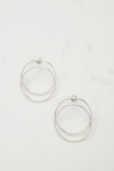Nevada Single Hoop, SILVER