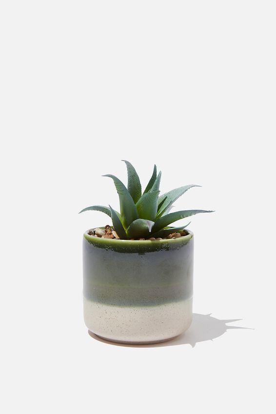 Mini Artificial Plant, GREEN REACTIVE