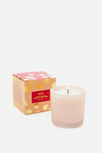 Small Box Candle, BLUSH/FRENCH CANCAN
