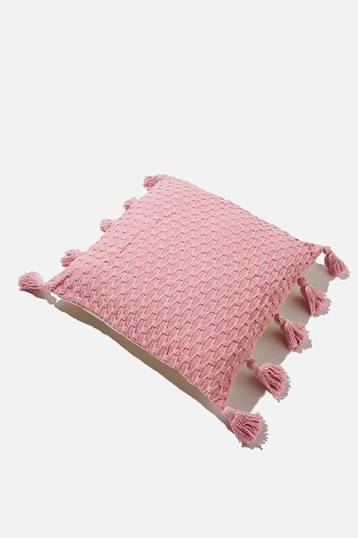 Tassel Cushion, PINK