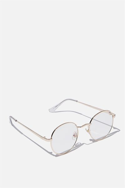 Emmi Blue Light Blocking Glasses, GOLD