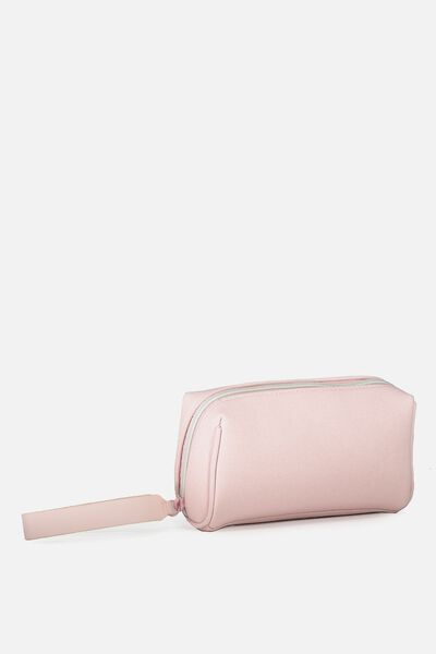 Day To Day Cosmetic Case, PARFAIT PINK TEXTURE