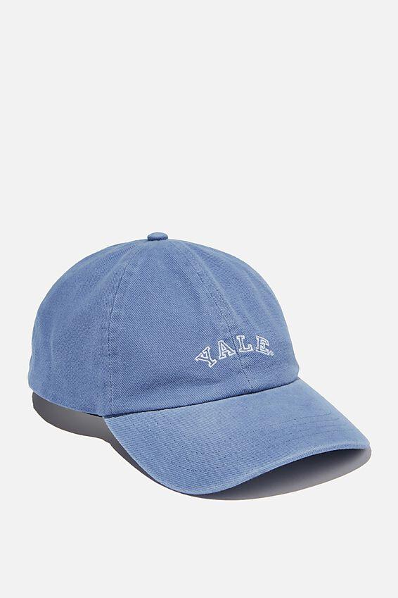 Graphic Dad Cap, LCN YALE LOGO/COASTAL BLUE