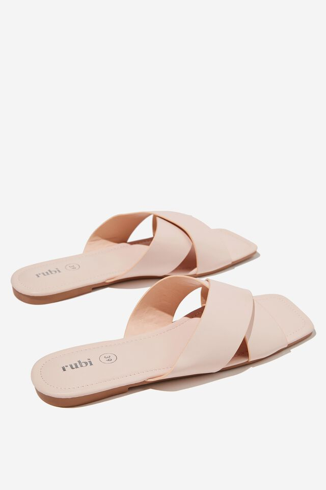 Everyday Sophie Xover Slide, PALE PINK PU