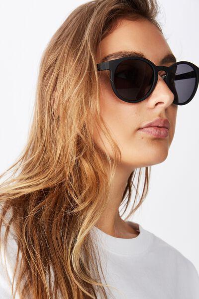 Rollin Round Sunglasses, MATTE BLACK