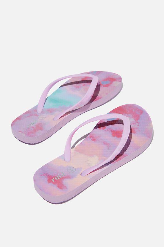 The Rubi Flip Flop, PASTEL CLOUDY OMBRE