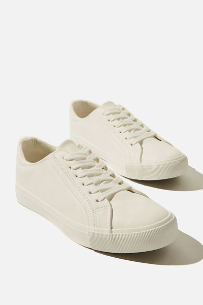 Emmy Retro Low Rise Sneaker, WHITE